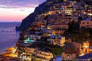 Positano Salerne en Italie