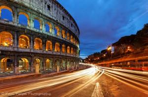 Colisée Amphithéâtre romain à Rome, Italie