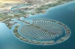 ile palmier Dubaï
