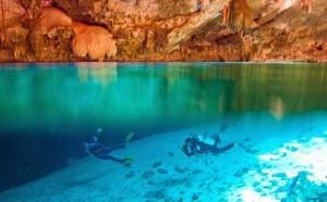 La péninsule de Yucatan