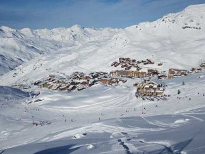 Val Thorens en France