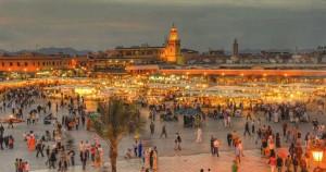 Célébrations Noel à la casbah de Marrakech