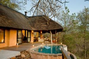 les lodges d'Afrique du Sud