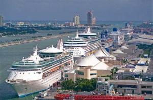 Le port de Miami
