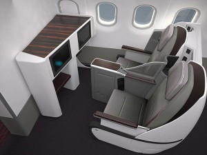Fauteuil Business Class Cabine Airbus A380