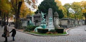 Le cimetière du Père-Lachaise  20ᵉ arrondissement