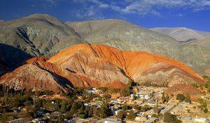 montagne aux 7 couleurs à purmamarca