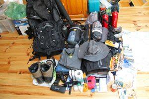 liste sac à dos de voyage