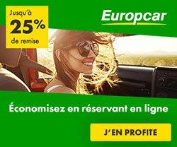 Location voiture pas cher avec Europcar
