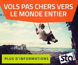Voyage avec STA Travel France