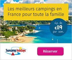 vacances camping en mobile home