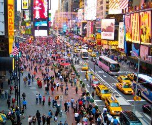 quartier Times Square Manhattan