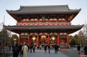 kaminarimon porte sensoji temple